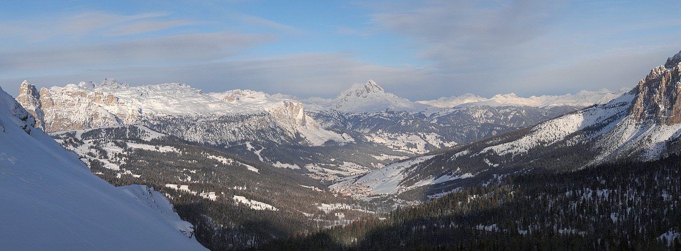 Alta Badia am Morgen