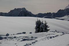 alta Badia im winter 2