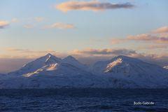 Altafjord im Sonnenaufgang