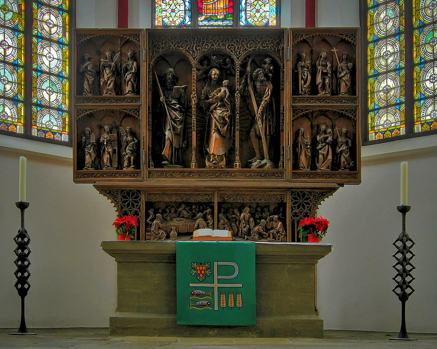 Altar der Jakobuskirche