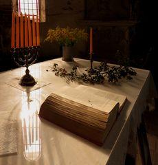 Altar der Klosterkirche im Amt Dambeck bei Salzwedel