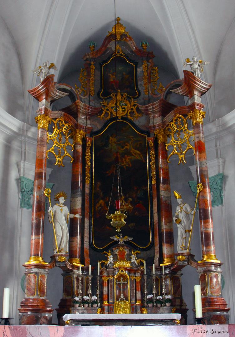 Altar Hilariuskirche