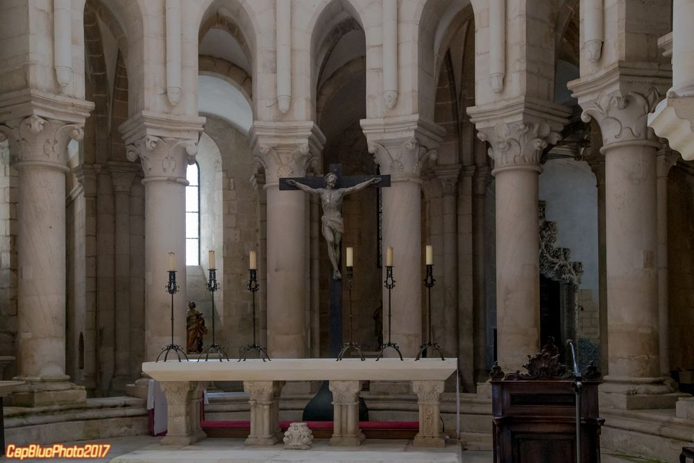 Altar in dem Zisterzienserkloster Alcobaca