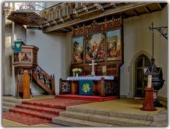 Altar Kirche Bochum Werne