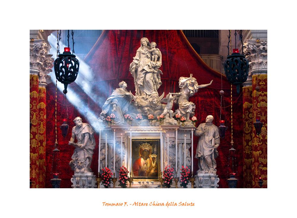 Altare della Chiesa della Salute
