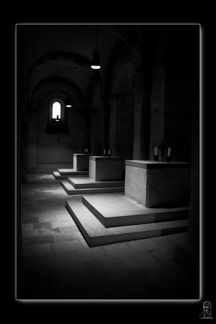 Altares subterraneos de Speyer