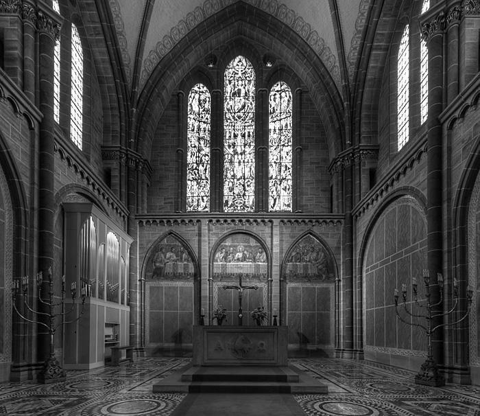 Altarraum des bremer Dom