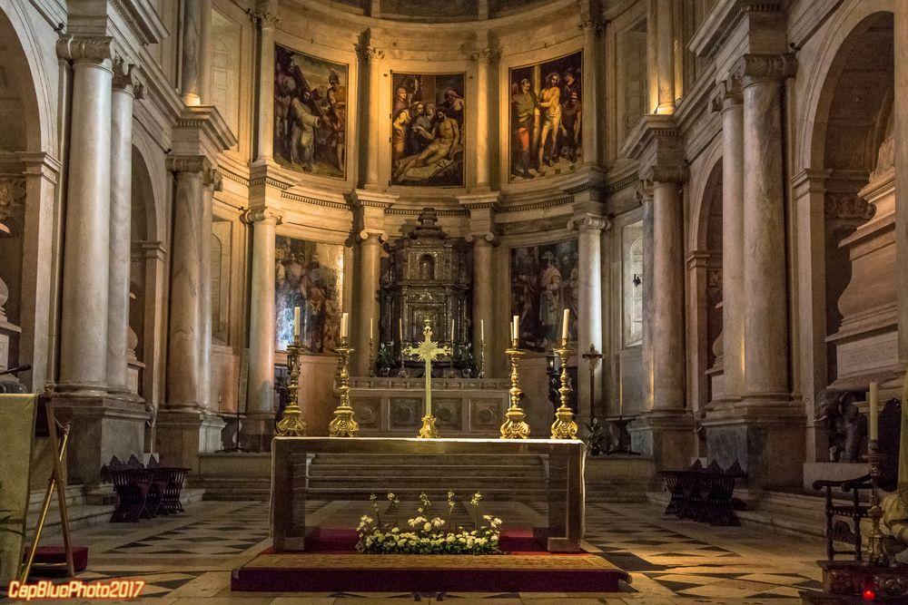 Altarraum des Mosteiro dos Jeronimos