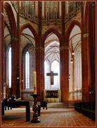 Altarraum in St. Marien zu Lübeck
