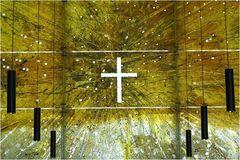 Altarwand St. Florian in der Messestadt München Riem