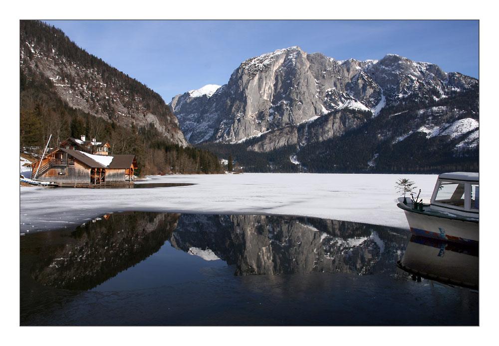 Altaussee  im Winter