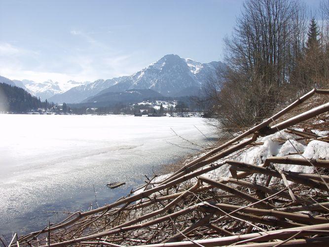 Altaussee in der Steiermark in Österreich
