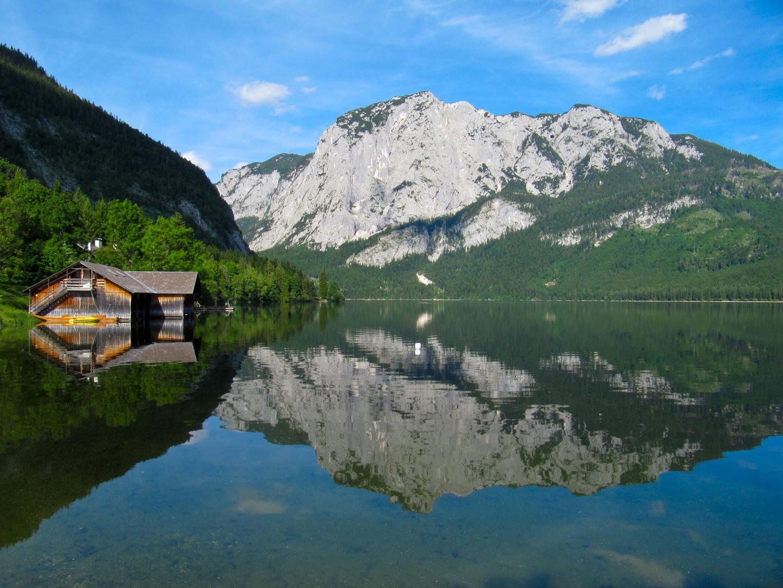 Altaussee mit Trisselwandspiegelung