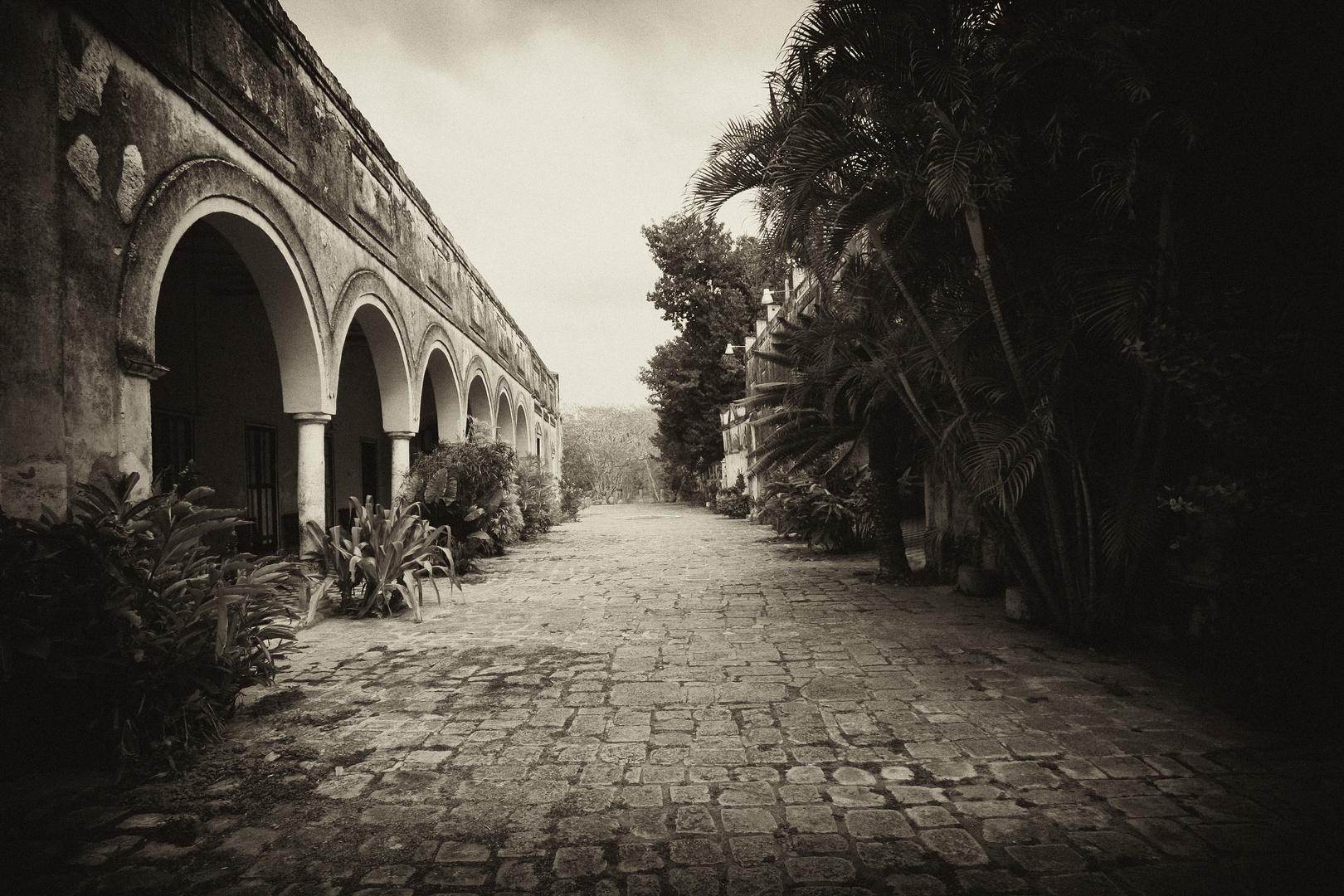 alte Baumwollfabrik in Mexico