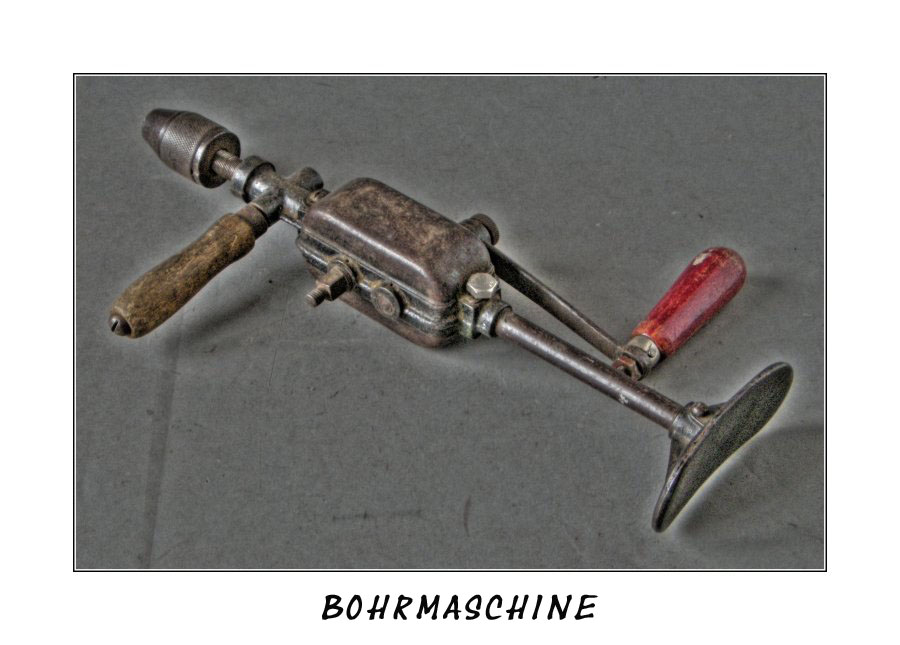 Alte Bohrmaschine 2