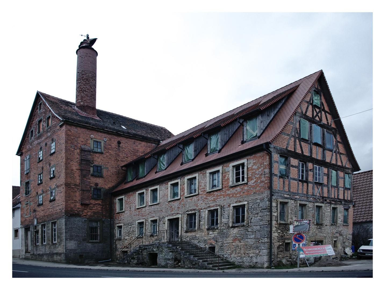 Alte Brauerei in Schrozberg-Riedhausen Foto & Bild ...