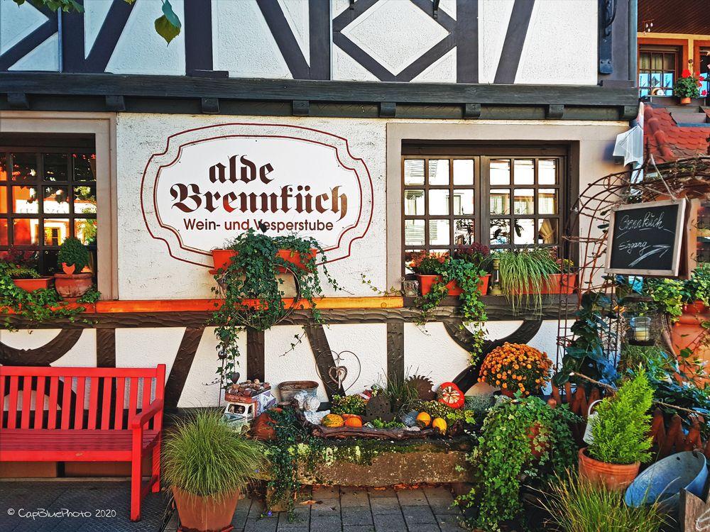 Alte Brennküche Kappelrodeck Die Wein- und Vesperstube