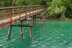 Alte Brücke am Plansee