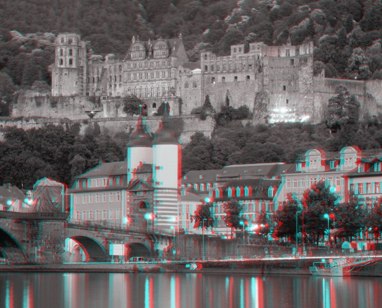 Alte Brücke mit Heidelberger Schloß