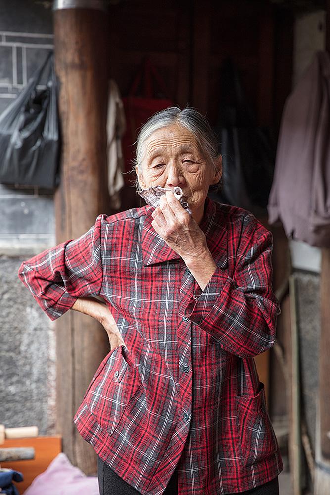 Alte Dame aus Heshun
