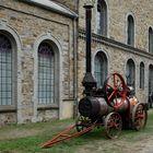 Alte Dampfmaschine/Dampflok in Piesberg 001