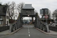 """""""Alte Drehbrücke"""" vorher"""