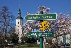 Alte-Dresden-Teplitzer-Poststraße in mehrfacher Hinsicht bedeutungsvoll, denn...