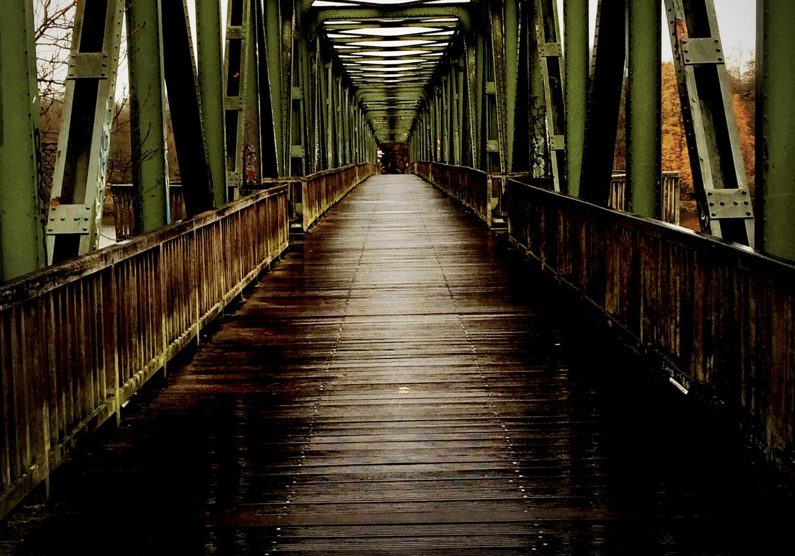 Alte Eisenbahnbrücke Essen - Kupferdreh