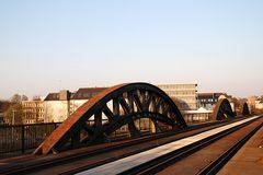 Alte Eisenbahnbrücke in Mülheim an der Ruhr