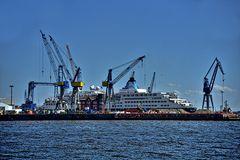 alte Europa im Werfthafen
