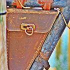 alte Fahrradwerkzeugtasche