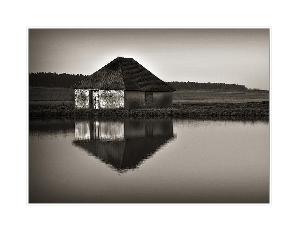 alte Fischerhütte...