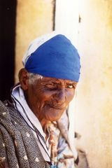 Alte Frau in Sal (Cabo Verde)