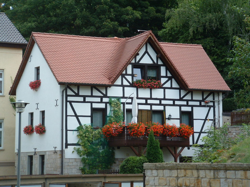 Alte Häuser in Weißenfels/Sachsen-Anhalt