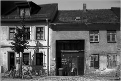 Alte Häuserzeile ...