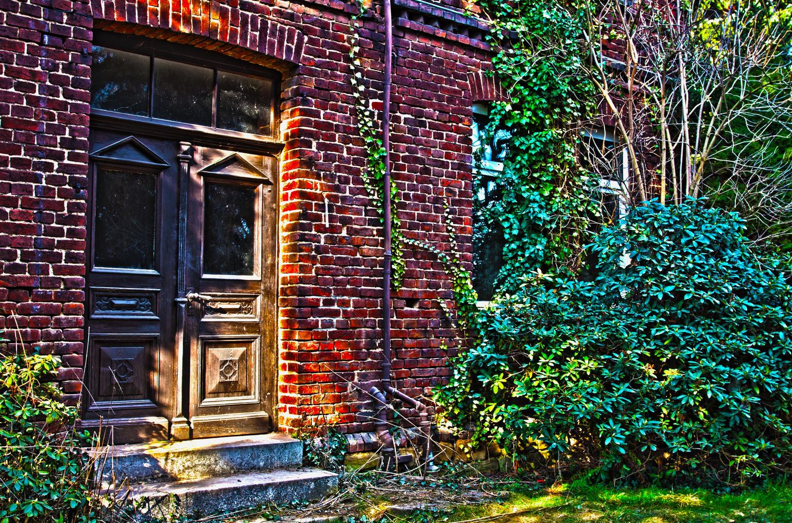 Alte Haustür