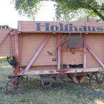 Alte Holthaus Dreschmaschine
