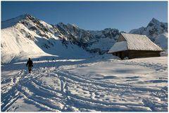 Alte Hütte in der Hohen Tatra