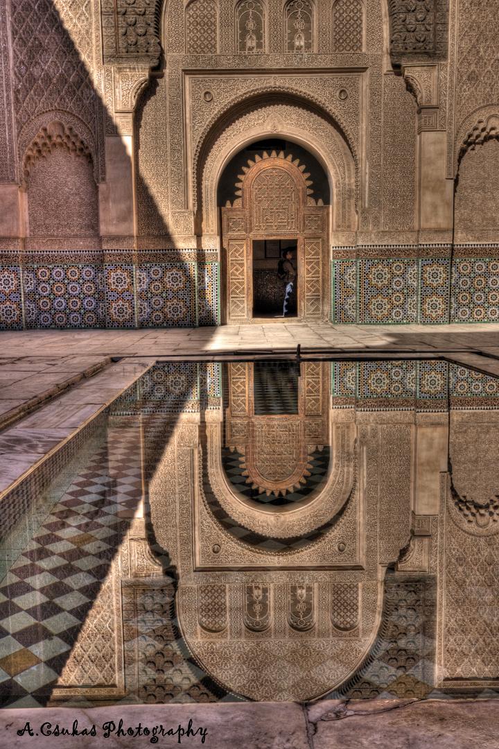 Alte Koranschule - Medersa Ben Youssef - Marrakesh