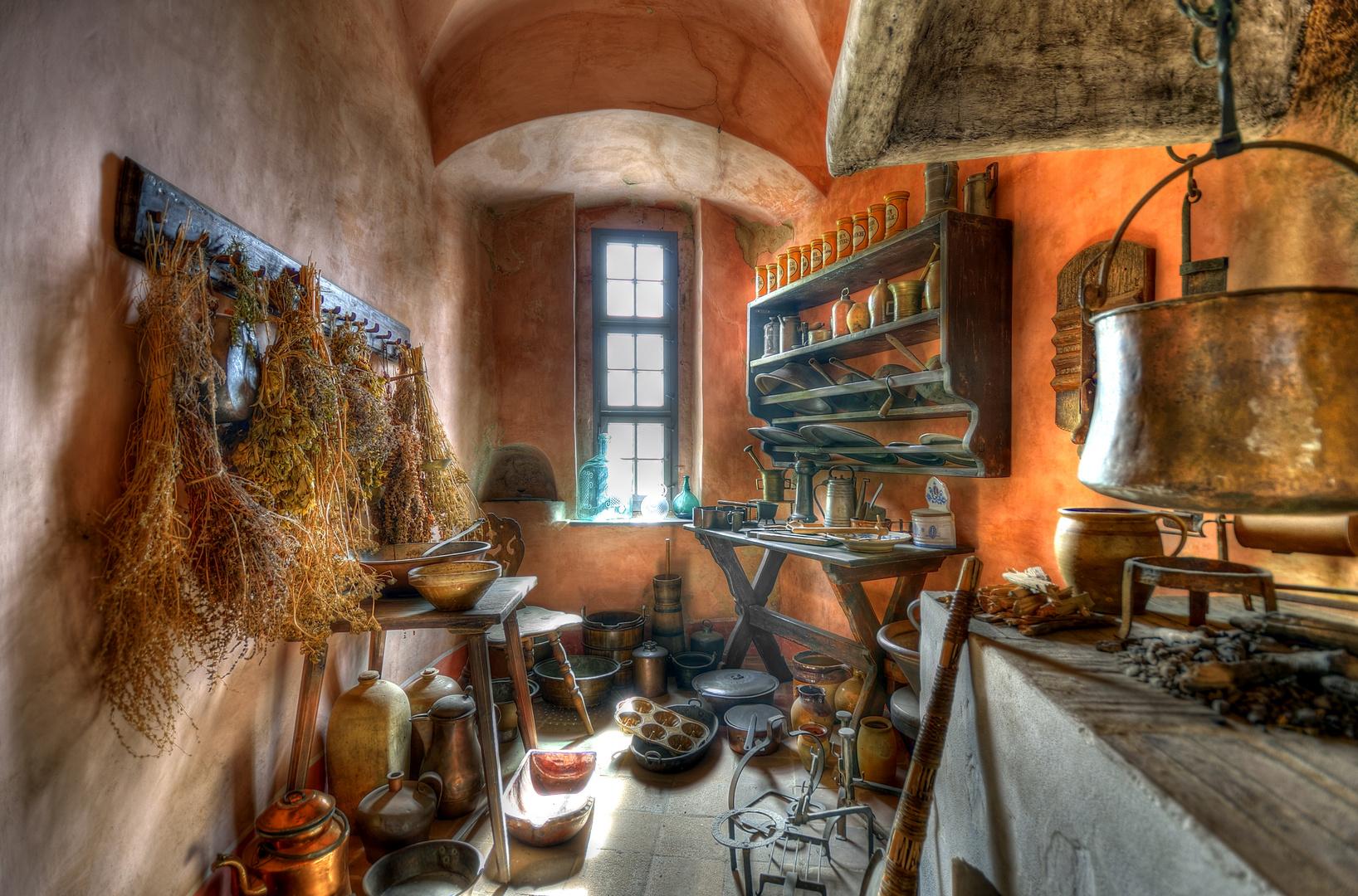 Alte Küche Foto & Bild | home 01, orange, historisch Bilder auf ...