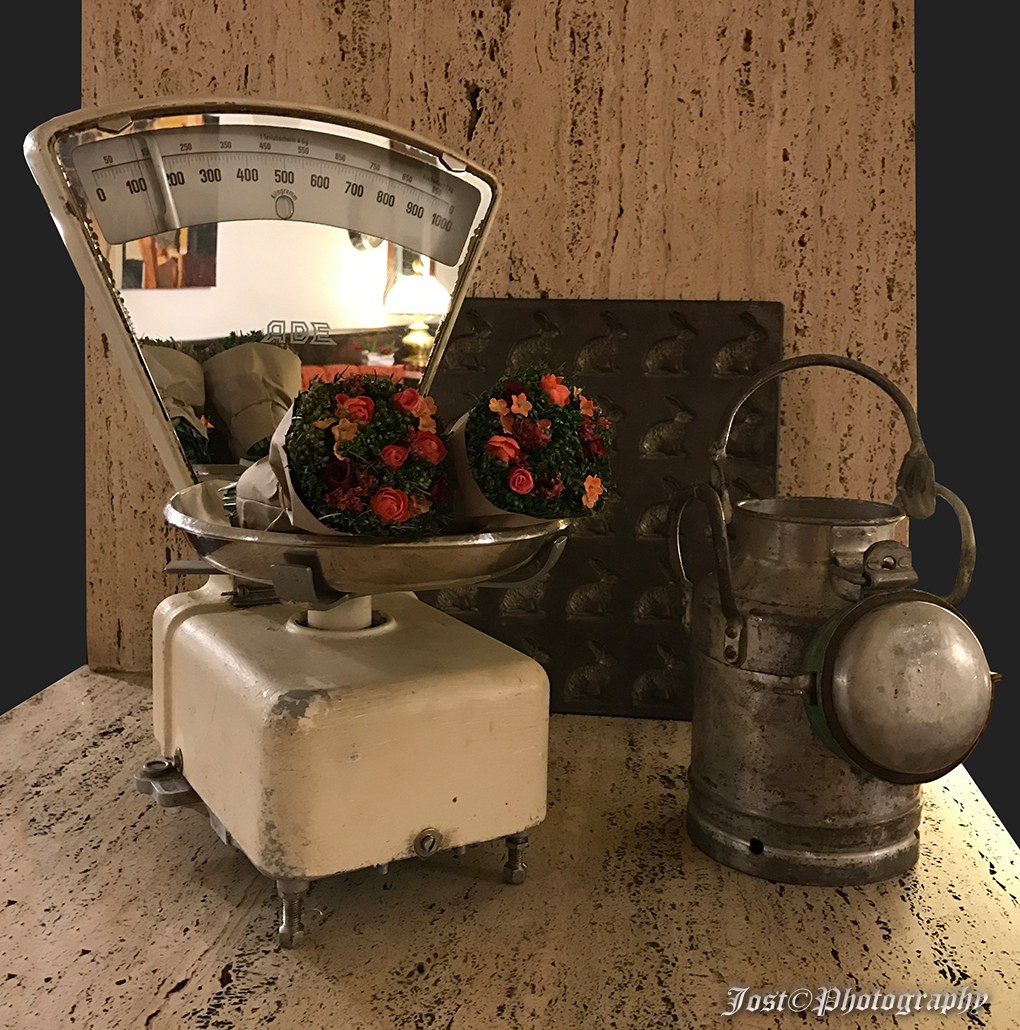 alte Küchenwaage...