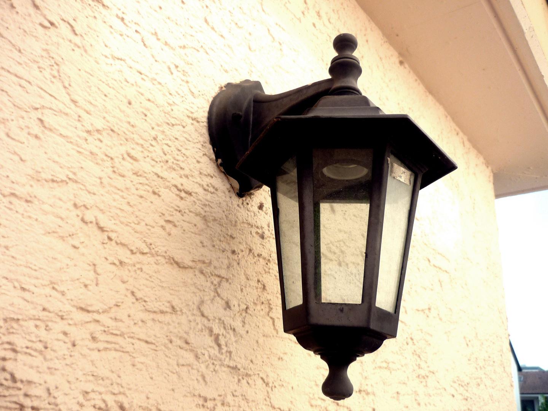 Alte Lampe.