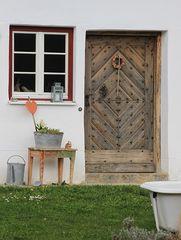 Alte Landhaus-Tür