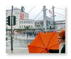 Alte Markt ... es regnet