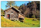 Alte Mühle bei Gries im Pinzgau
