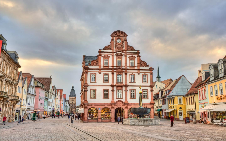 Alte Münze Speyer Foto Bild Unesco Historisch Digiart Bilder