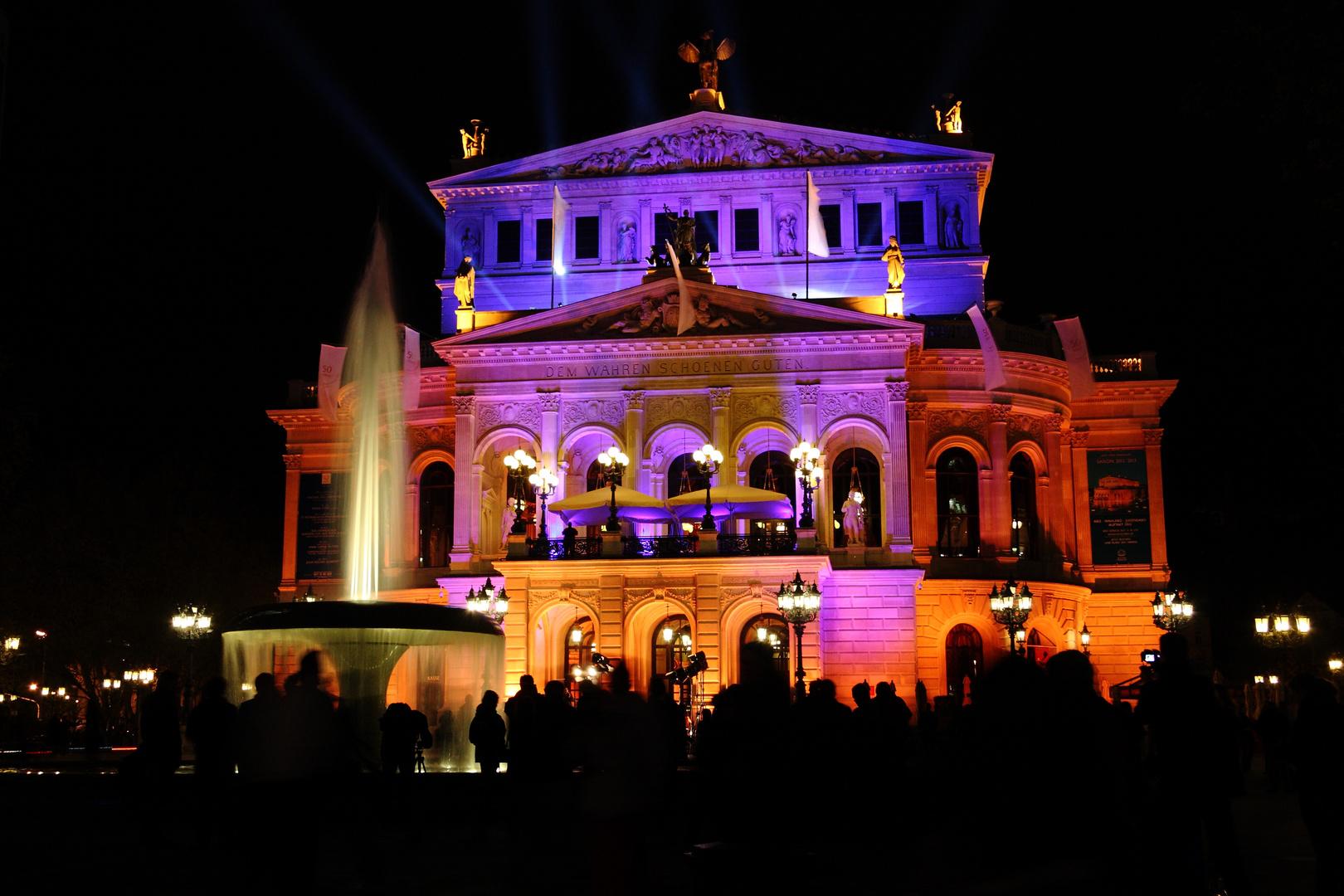 Alte Oper Frankfurt / Luminale 2012