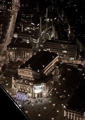 Alte Oper Frankfurt @ Night - vom Maintower
