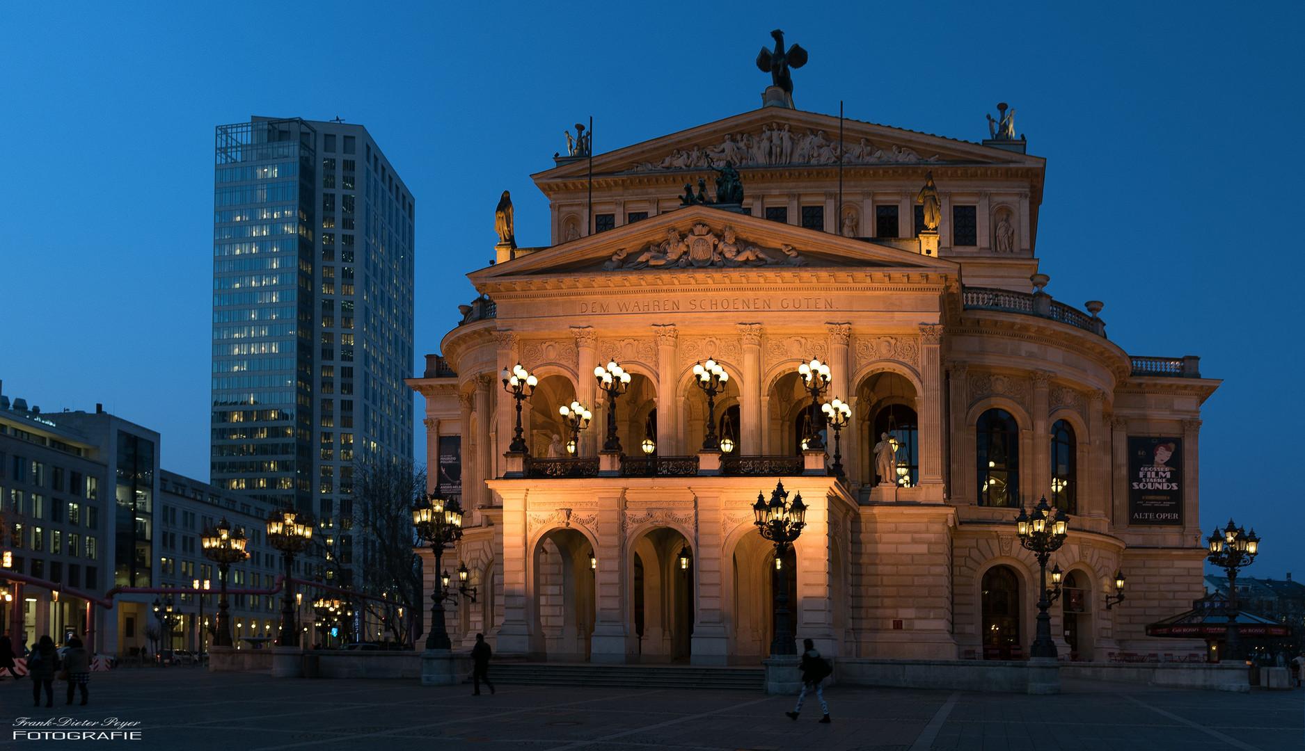 Oper Frankfurt Spielplan 2021