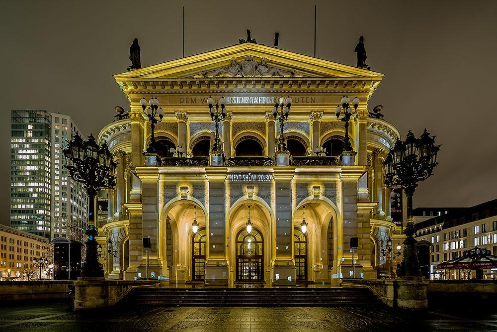 Alte Oper in Frankfurt - Luminale 2018 (1)